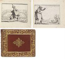 CALLOT, Jacques (1592-1635). Capricci di varie figure ... All Illmo. & Ecc.mo S. Principe Don Lorenzo Medici. Florence: [1617].