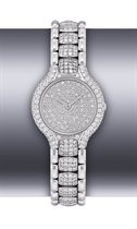 EBEL, BELUGA  LADY'S WHITE GOLD AND DIAMOND-SET QUARTZ BRACELET WATCH