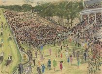 Spectators at the Races, Goodwood