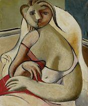 Femme dans un fauteuil blanc, 1932