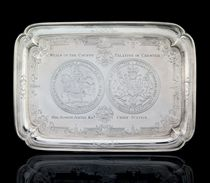 AN IMPORTANT GEORGE I SILVER SEAL-SALVER
