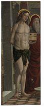 Saints Sebastian and Jerome, a fragment