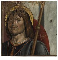 Saint Roch, a fragment