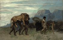 Return from the lion hunt