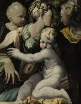 The Madonna and Child with the Infant Saint John the Baptist and Saint Catherine