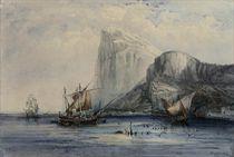 Coastal craft off Gibraltar
