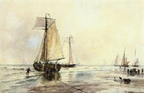 A hazy morning, Katwijk aan Zee (illustrated); and Mouth of the harbour, Calais