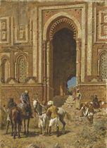 Gateway of Alah-Ou-Din, Old Delhi