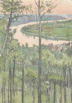 La Seine prés de Caumont