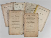 PAINE, Thomas A COLLECTION OF PAMPHLETS THAT MADE PAINE HATE
