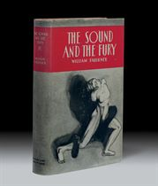FAULKNER, William The Sound and the Fury New York: Jonathan