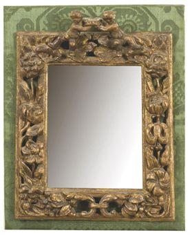 Cadre monte en miroir d 39 epoque baroque vers 1700 for Cadre miroir