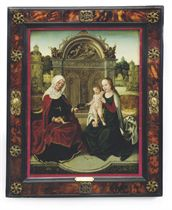Madonna and Child with Saint Anna