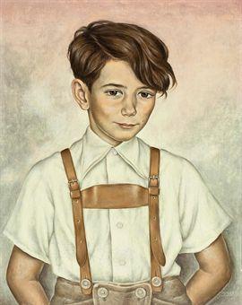 Kinderbild Hans Joachim Zimper