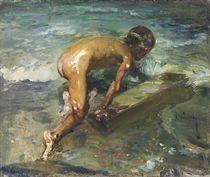 El niño bañista