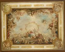 L'apothéose d'Hadrien: projet pour le plafond du Palais Royal de Madrid