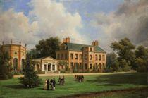 Le roi Louis Philippe reçu par la reine Victoria et le prince consort à Twickenham, le 10 octobre 1844