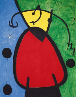 Art history news joan mir at auction for Dans joam