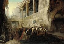 Xerxes appointing his generals for the Grecian Expedition