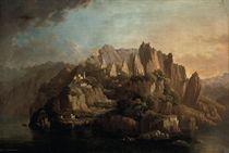A rocky Italianate landscape