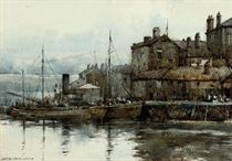 A Cornish fishing village