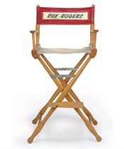 ROY ROGERS' DIRECTOR'S CHAIR
