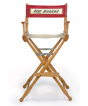 Roy rogers director s chair