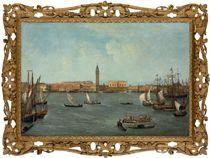 The Bacino di San Marco, Venice, looking towards the Molo