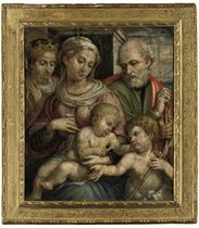 The Holy Family with the Infant Saint John the Baptist and Saint Catherine of Alexandria