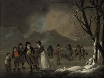 Skaters in the Lake District