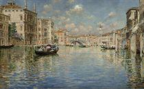 A gondola ride before the Rialto Bridge, Venice