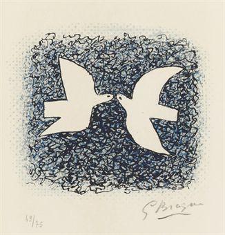 Couple d'oiseaux (G. Braque)