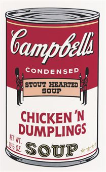 Andy Warhol Chicken N'Dumplings, from Campbell's Soup II (F. & S. II.58)