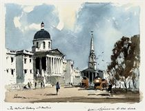 The National Gallery and St Martins
