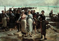Oyster sellers
