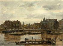 A view of the Schreierstoren, Amsterdam
