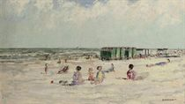 Children on a beach