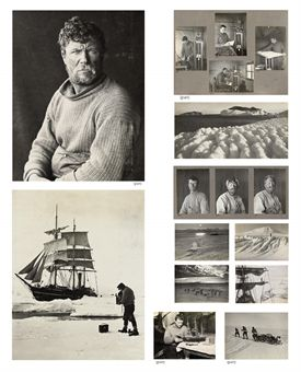 British Antarctic Expedition, 1910-13: Ponting's three master albums of contact prints