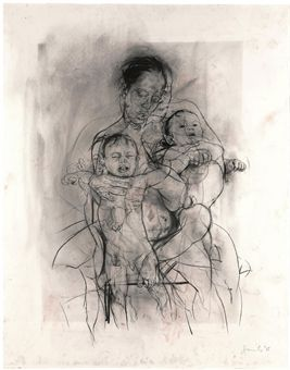Mother and Child (After the Leonardo Cartoon)