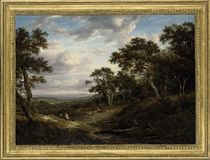 A view near Woburn, Bedfordshire