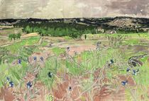 Valley with Cornflowers