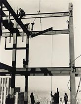 Iron Workers, Esso Building, New York