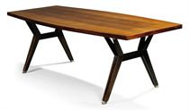 AN ICO PARISI DINING TABLE