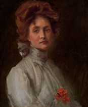 (Untitled) Portrait of a Young Woman