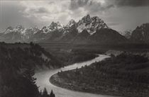 Grand Tetons and the Snake River, Grand Teton National Park, Wyoming, 1942