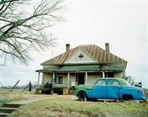 House and Car, Near Akron, Alabama, 1981