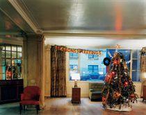 Christmas Tree in Lobby, New York City, 1977