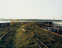 A Spring Evening, the Hudson, May, 2001