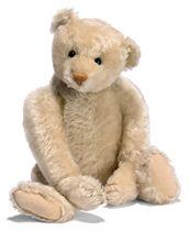 A STEIFF WHITE TEDDY BEAR (5343,1), jointed, mohair, soft st