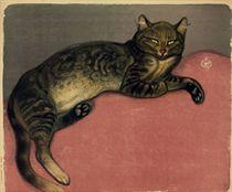 L'hiver, chat sur un coussin (Crauzat 293)